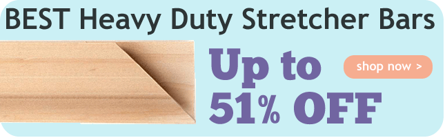 Up to 51% Off BEST Heavy Duty Stretcher Bars