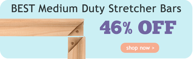 46% Off BEST Medium Duty Stretcher Bars