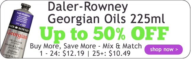 Up to 60% Off Daler-Rowney Georgian Oils 225ml