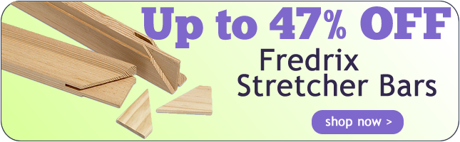 Up to 44% Off Fredrix Stretcher Bars