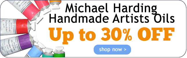 Up to 30% Off Michael Harding Handmade Artists Oils
