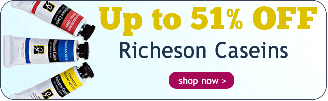 Up to 51% Off Richeson Caseins and Sets