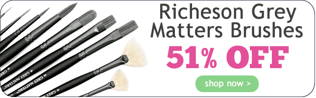 51% Off Richeson Grey Matters Brushes