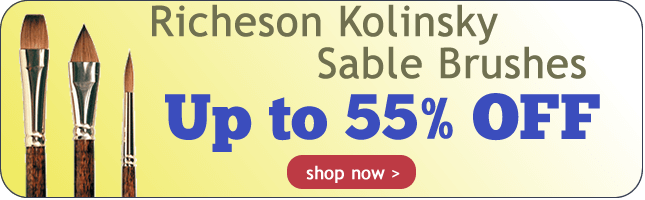 Up to 55% Off Richeson Kolinsky Sable Brushes