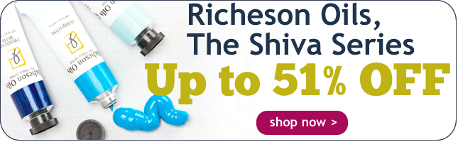 Up to 47% Off Richeson Oils, The Shiva Series